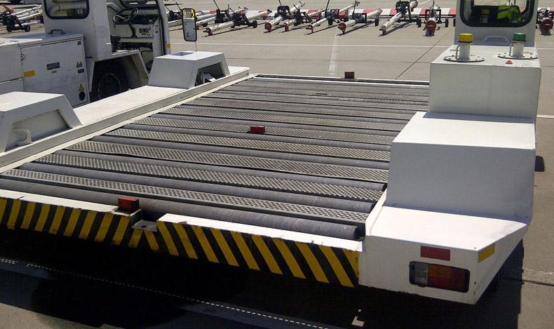 Einsa TDA 15 pallet container transporter (year: 2000; capacity: 7000kg)