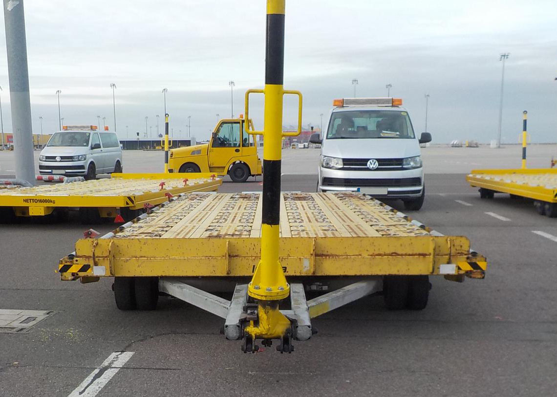 Cargo Dolly 20ft Lomma CPA 20.0 (GSE-Id: 00656)