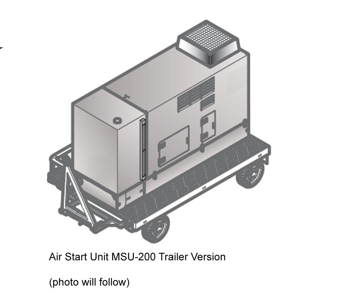 Air Start Unit Rheinmetall MSU-200 204 PPM Drawing
