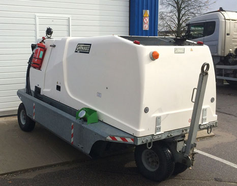 Ground Power Unit Guinault GA100 for saled. Used (2011 manufactured, 7.250 operation hours)